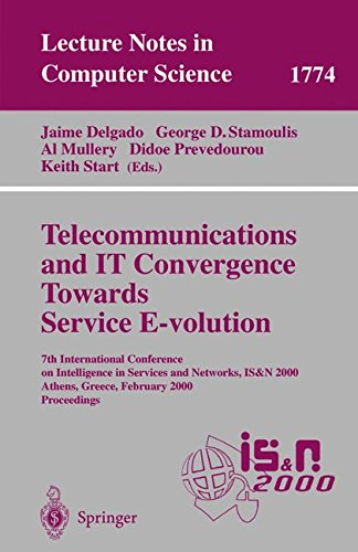Telecommunications and IT Convergence. Towards Service E-volution: 7th International Conference on Intelligence in Servi