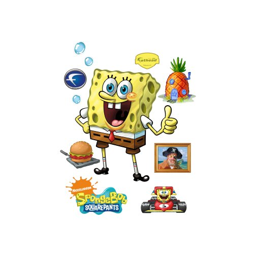 SpongeBob Square Pants Wall Decal by FATHEAD (Image #1)