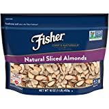 FISHER Chef's Naturals Sliced Almonds, No Preservatives, Non-GMO, 16 oz