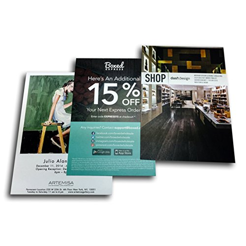 Custom Printed Full Color Postcards, 4