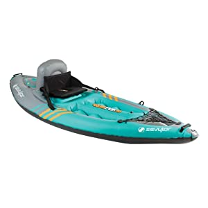 best kayak for beginners - Sevylor Quikpak K1 1-Person Kayak