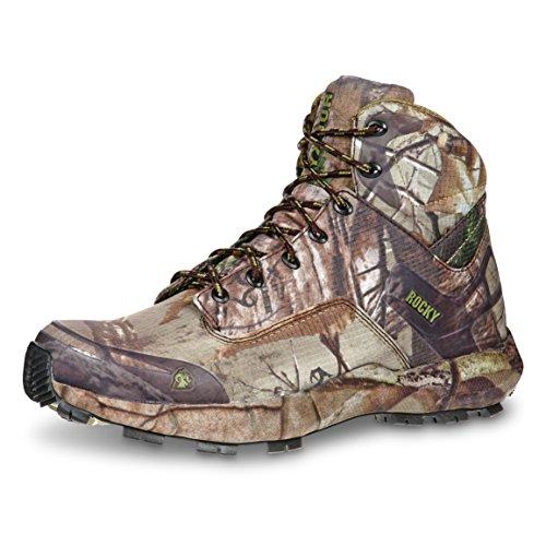 Stop Trail Boots (Rocky Mens Realtree Xtra Ripstop Broadhead Trail Hiker Hunting Boots 10.5 M)