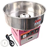 Giantex Electric Cotton Candy Machine Pink Floss Carnival Commercial Maker Party