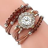 AutumnFall Women Flower Quartz Watches Bracelet Wristwatch,Gift For Lady Girl,Style 2