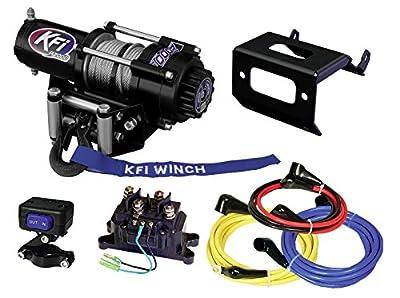 KFI Combo Kit - A2000 Winch & Winch Mount - 2014-2018 Honda Rancher TRX420 FE1