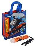 """Thomas the Train"" Boys Resuable Medium Sized Halloween Trick or Treat Loot Bag!! Plus Bonus ""Safety First"" Mini Halloween Flashlight Necklace!"
