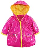 Wippette Baby Girls' Solid Rain, Strawberry, 12 Months