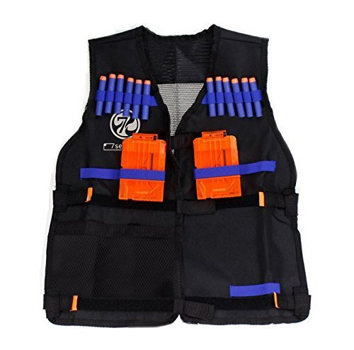 7Seventoys Elite Tactical Vest for Nerf N-Strike Elite Series (Vest Elite Tactical)