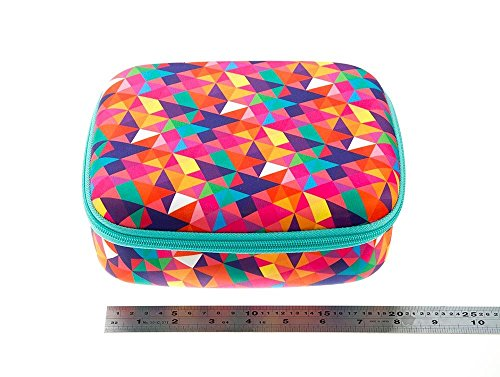 ZIPIT Colorz Lunch Box, Colorful Triangles Photo #3