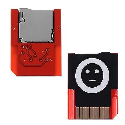 Adaptador de tarjeta QR-ONCES para tarjeta de juego PSVita a ...