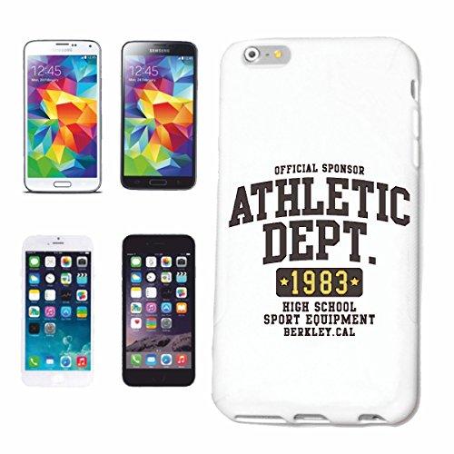 caja del teléfono iPhone 7+ Plus ATLETISMO DEPARTAMENTO DE ALTA ESCUELA UNIVERSITARIA EE.UU. AMERICA Los Ángeles, California Brooklyn NEW YORK Manhattan RUGBY BÉISBOL FÚTBOL FÚTBOL Caso duro de la c