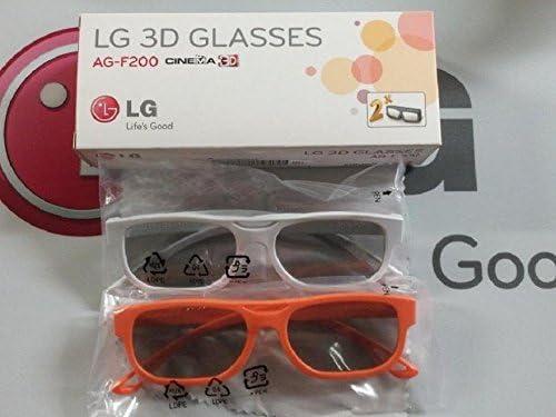 LG AG-F200 3D Glasses - 2 Pairs - LG Cinema for 2011 LG 3D LED HDTVs / LG AG-F200 3D Glasses - 2 Pairs - LG Cinema for 2011 LG 3D LED HDTVs
