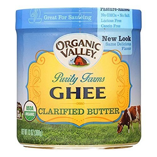 ORGANIC VALLEY Certified Ghee Clarified Butter 4Pack (13oz Each) by Purity Farms (Image #1)