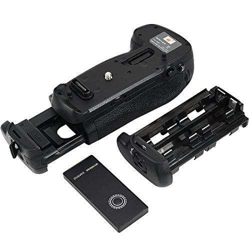 DSTE Pro Wireless Remote Control MB-D18 Vertical Battery Grip for Nikon D850 Digital Camera as EN-EL15 ENEL18A