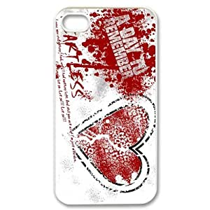 Customize Famous Rock Band A Day To Remember Back Case for iphone4 4S JN4S-1716 hjbrhga1544