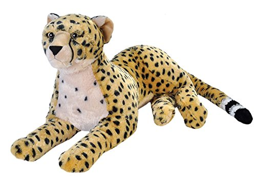 (Wild Republic Jumbo Cheetah Plush, Giant Stuffed Animal, Plush Toy, Gifts for Kids, 30 Inches)