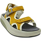 Women's MBT Kisumu 3 Honey Leather Sandal (41 (US Women 10))