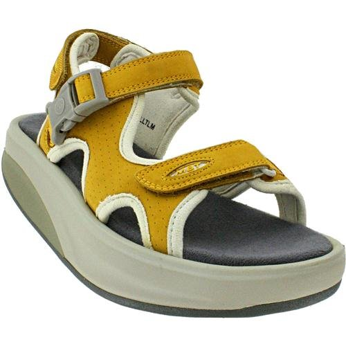 Women's MBT Kisumu 3 Honey Leather Sandal (41 (US Women 10)) by MBT
