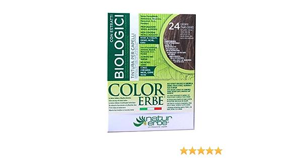 Naturerbe - Tinte Color Erbe, con extractos orgánicos, tono ...