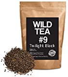 Organic Black Tea From India, Wild Tea #9 Premium Loose Leaf Tea Black Tea (8 ounce)