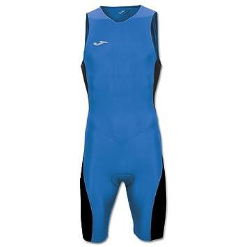 Joma Mono Triathlon Royal-Negro S/M - Mono de Ciclismo, Unisex, Azul - (Royal)