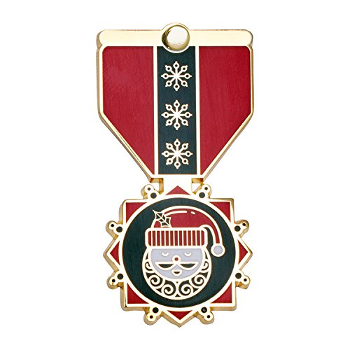 GENEROUS HOST Greeting Card & Gift (Lapel Pin / Keychain Charm) for Christmas by Merit Medals