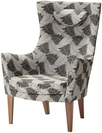 IKEA STOCKHOLM – fauteuil dossier haut, Mosta) Gris: Amazon