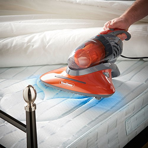 VonHaus UV Handheld Vacuum Cleaner | 550W | Ideal for Mattresses, Pillows, Curtains, Sofas and...