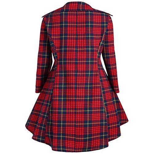 De Princesa Informal Elegante Sijux Polo Vestido Noche Celosía Falda Bodycon Collar Partido Femenino Del Red La Patinaje Vendimia HwpqU