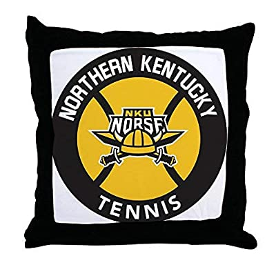 Pattebom Northern Kentucky Nku Tennis Canvas Throw Pillow Covers 18 x 18 Home Decor Farmhouse Throw Pillows Case Cushion Covers Decorative for Gifts