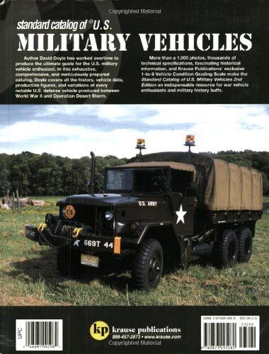 Amazon Standard Catalog Of Us Military Vehicles