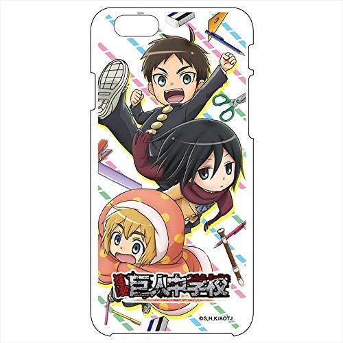 進撃!巨人中学校 スマートフォンケースA iPhone6/6sの商品画像