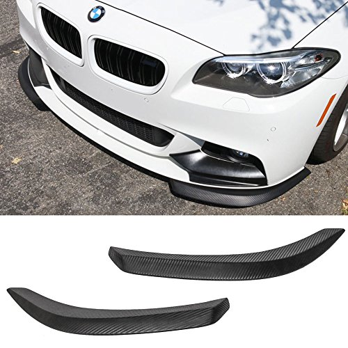 Front Bumper Lip Fits Universal Vehicles 27 Inch x 9 Inch | Universal Style Black PU Front Lip Finisher Under Chin Spoiler Add On by IKON - Style Lip Spoiler