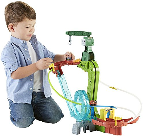 Fisher-Price-Thomas-the-Train-MINIS-Motorized-Raceway