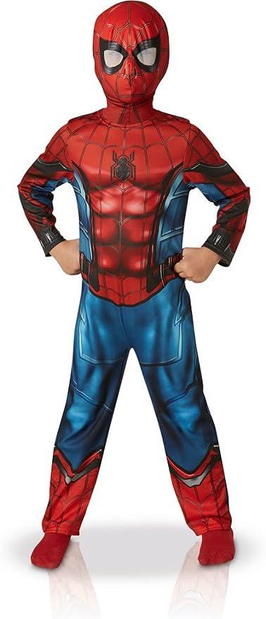 Rubies – Disfraz clásico de Spider-Man Homecoming: Amazon.es ...