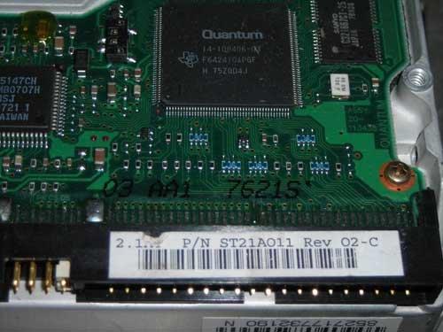 Quantum TM17A103 1.7GB IDE DRIVE ()