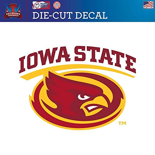 Victory Tailgate Iowa State University Cyclones Die-Cut Vinyl Decal Logo 2 (Approx 6x6) ()