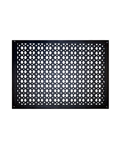 Air Return Grille 16 x 24 Cast Aluminum Air Vent for Wall, Durable, Sand Cast, Matte Flat Finish, Powder Coated, Hand Finished Vent Covers for Home Décor - - Wall Cast Scroll