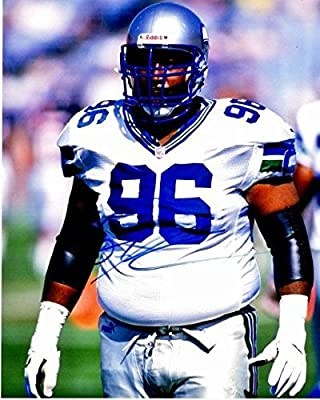 Cortez Kennedy Autographed Picture - 8x10 inch Guaranteed to pass or JSA Deceased 2017 - PSA/DNA Certified