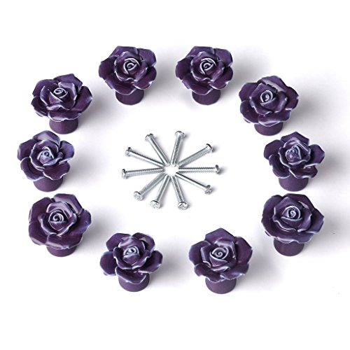 purple bedroom door knobs - 8