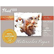Handbook Paper Fluid 100 Watercolor Cp 140Lb Ez-Block 6X8