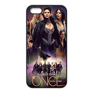 iPhone 5,5S Phone Case White Once Upon A Time V8803999