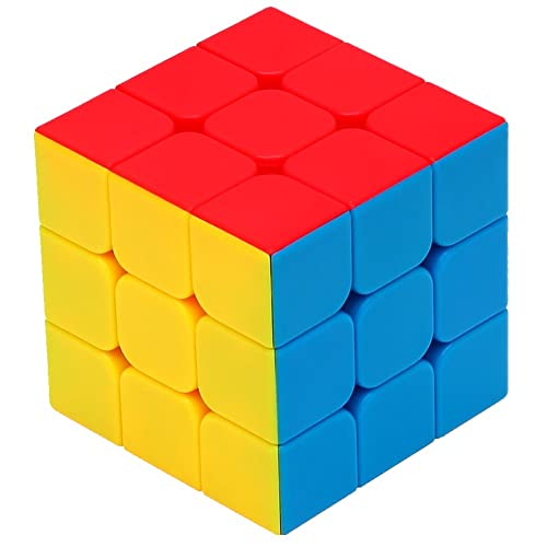 55cube 3x3x3 Speed Cube Speed Puzzle Magic Cube color cube Stickerless cube