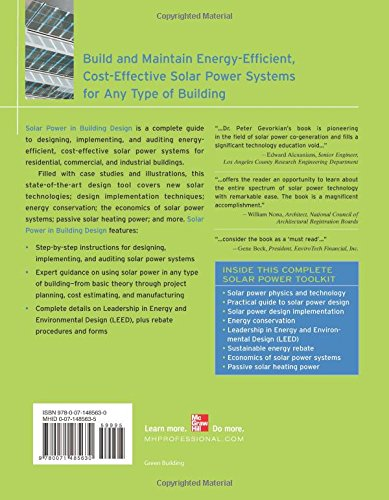 Solar Power in Building Design (GreenSource): The Engineer's Complete Project Resource (GreenSource Books)