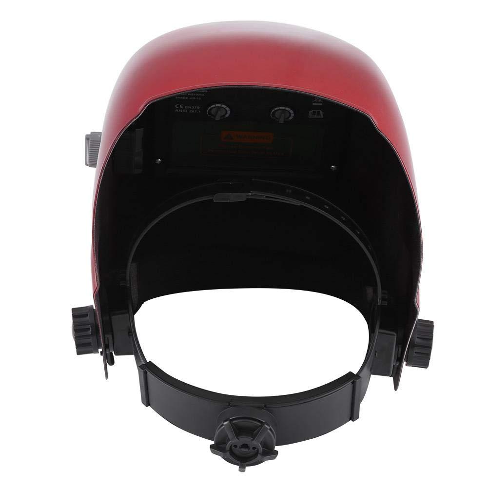 Casque de soudure casque de soudure solaire en forme darc protection des yeux pour soudeurs