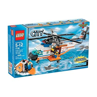 LEGO City Coast Guard Helicopter and Life Raft: Toys & Games