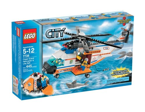 LEGO City Coast Guard Helicopter and Life Raft