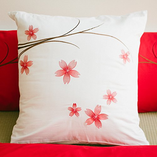 White pillow slip Euro sham cover, oversized pillowcase 26