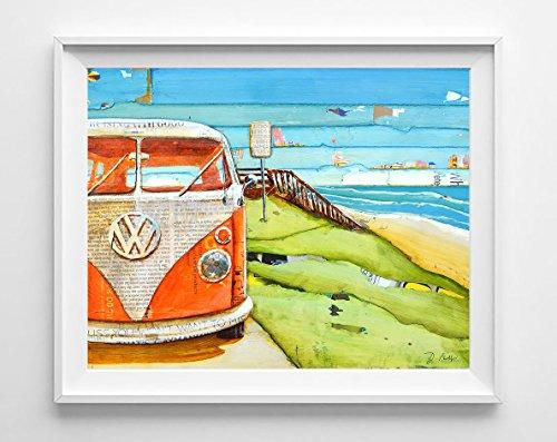 Beach Original Art Painting - 2