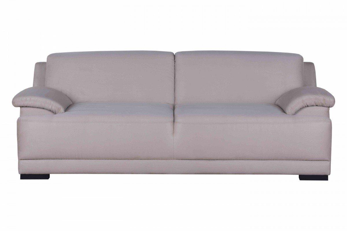 Dreams4Home Polstergarnitur 'Flower', beige, Boxspring, Boxspringpolsterung, 3 Sitzer, Polyester,Polstermöbel, Wohnzimmer, Sitzmöbel, Couch